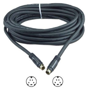 S-Video Digital Video Cables, M/M, 6FT